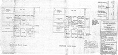 Plan 5 First Floor Existing And Proposed Floor Plans