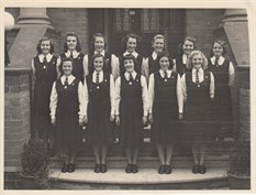 1949 4Th And 5Th Year Classes Sr Maura Campbell Top Left