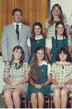 1982 Prefects With Rl Kelly Principal