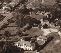 1970 Aerial Photo Building Laundry