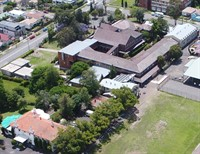 1970 In 2017 Aerial Of Building