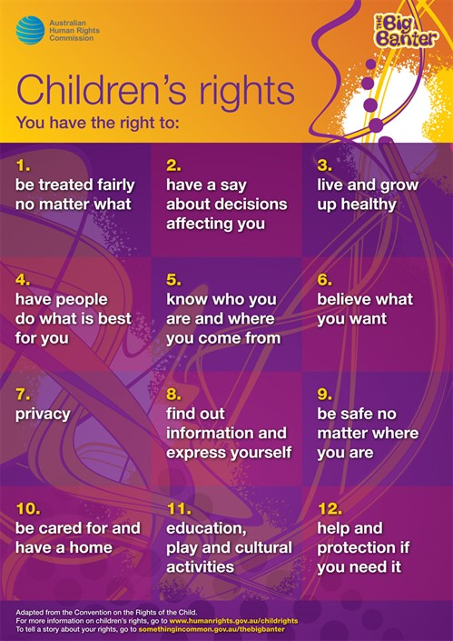 2021 Childrens Rights Poster